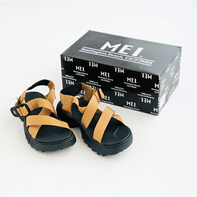 MEI Recycled tape sandal MENS
