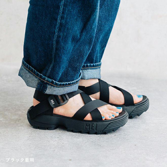 MEI Recycled tape sandal LADIES